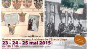 Portes ouvertes aux Archives de l'Etat à Liège durant le week-end de la Pentecôte