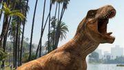 Des dinosaures à chasser avec son portable comme des Pokémon