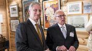 Le Roi Philippe visite le Musée Juif de Belgique