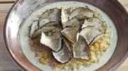 Recette : risotto de petit épeautre à la truffe