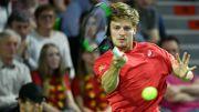 David Goffin, treizième, gagne une place au classement ATP