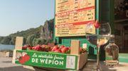 Apéro: Un nouveau gin belge à la véritable fraise de Wépion