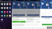Certains smartphones Samsung empêchent la suppression de Facebook