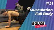 Bouge à la maison: musculation full body