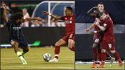Avec Salah et Mane, Liverpool domine Manchester City et Denayer
