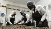 L'atelier de la Maison du chocolat ivoirien, à Abidjan.