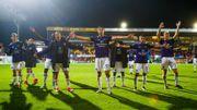 Anderlecht célèbre sa victoire