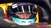 Excès de vitesse et trois places de pénalités sur la grille pour Daniel Ricciardo