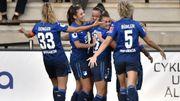 Champions League féminine: la Red Flame Tine De Caigny plante un doublé, Ada Hegerberg rejoue après 625 jours d'absence