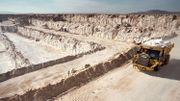 Le sel du Salar Grande, une mine chilienne à ciel ouvert sera sur nos routes cet hiver