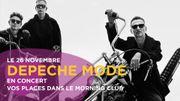 Depeche Mode en Belgique: vos places dans le Morning Club
