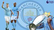 Les chiffres du sacre en Premier League du Manchester City de De Bruyne et Kompany