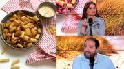 Les pasta chips, top ou flop? Le 8-9 teste cette nouveauté qui buzz sur les réseaux sociaux