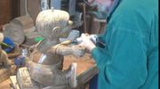 Faisons un tour dans l'atelier de sculpture sur bois !