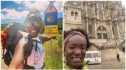 """Cécile Djunga émue d'avoir relevé son défi des Chemins de Saint-Jacques : """"Il faut aller au bout de ses rêves"""""""
