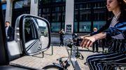 Un détecteur d'angle mort pour vélos et camions en test à Bruxelles