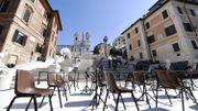 A Rome, l'escalier restauré de la Trinité-des-Monts restera ouvert en permanence