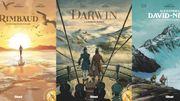 Des explorateurs hors du commun : Rimbaud – Darwin – David- Néel
