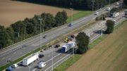 La E42 rouverte à la circulation après un accident impliquant un conducteur fantôme