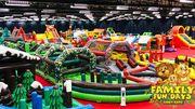 Une aire de jeux de 6.000 m² pour enfants et adultes à Ciney Expo