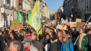 Action pour le climat à Bruxelles