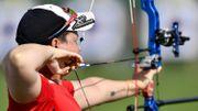 Sarah Prieels aux Jeux Européens