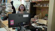 Catherine Bureau vient de lancer son webshop et reçoit ses commandes dans sa boîte mail