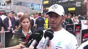 """Hamilton: """"Maintenant je sais comment Leclerc conduit quand il est en bagarre"""""""