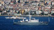 Le CCB-201 russe, dépêché en Méditerranée pour des opérations de surveillance