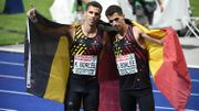 L'argent pour Kevin Borlée sur 400 m, le bronze pour son jumeau Jonathan