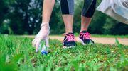 Le plogging: l'art de ramasser les déchets lorsqu'on fait son jogging