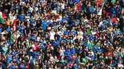Euro 2020: Environ 10.000 tifosi et plusieurs VIP à Wembley pour la finale