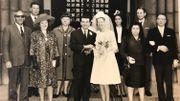 Jeanine Kerstius, à son mariage avec Michele, italien, en 1962. Elle perd alors sa nationalité belge pendant un temps.