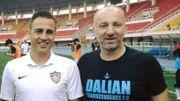 Fabio Cannavaro avec Rusmir Cviko