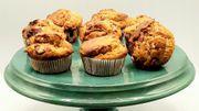 Expresscette de Candice : Muffins au beurre de cacahouètes et snickers
