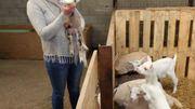 Vinalmont : Florence et ses chèvres