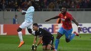 Jordan Lukaku battu sur le but roumain