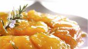 Recette : tatin d'abricots au romarin
