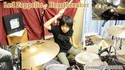 [Zapping 21] Une incroyable reprise de Led Zeppelin par une batteuse de 10 ans