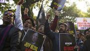Des manifestations dans la capitale indienne.