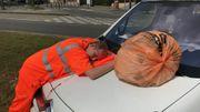 Les éboueurs sont parfois victimes des accidents de la route