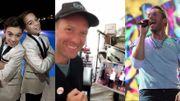 "[Zapping 21] Chris Martin chante ""Viva la vida"" avec des fans italiens"