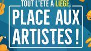 """Liège fait """"Place aux artistes"""" cet été"""