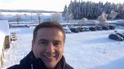 Nicolas-Xavier Ladouce, le monsieur météo de la RTBF, a quelque chose à fêter !