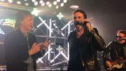 McCartney avec des membres de Muse