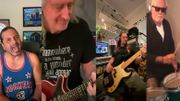 """[Zapping 21] Brian May et Roger Taylor reprennent """"We Are The Champions"""" avec Jeff Scott Soto en confinement"""