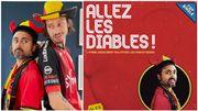 """Pablo Andres tient sa promesse: il a sorti en entier """"Allez les Diables"""", son hymne non-officiel pour l'Euro !"""