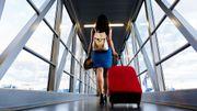 45% des Européens voyageurs disent merci à l'inventeur de la valise à roulettes