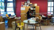 Les enseignantes préparent déjà le déménagement pour la rentrée de septembre. Le temps presse...
