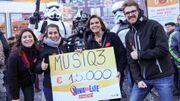 Viva for Life | 15.000€ récoltés par Musiq3: merci pour votre générosité!